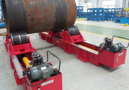 Fit-up rotator