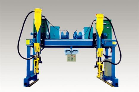 H beam auto-welding machine