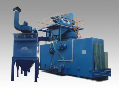 H beam shot-blasting and cleaning machine
