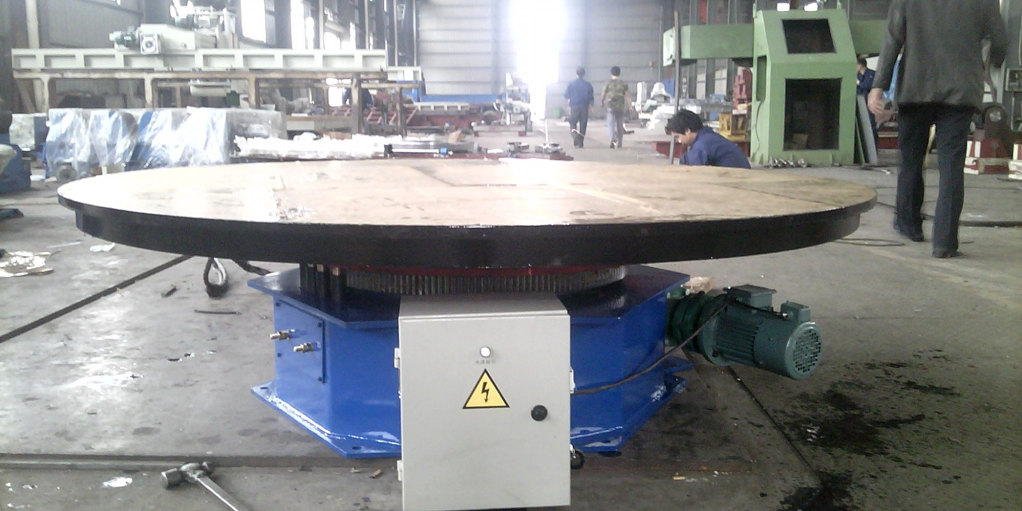5 tons welding turntable positioner