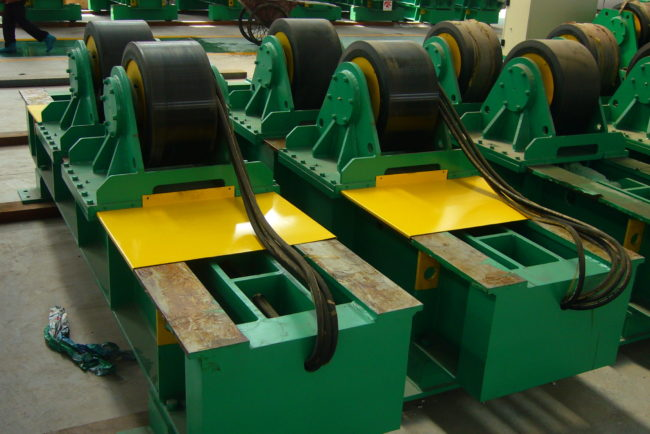 WR 20 tons conventional Pipe Welding Rolls
