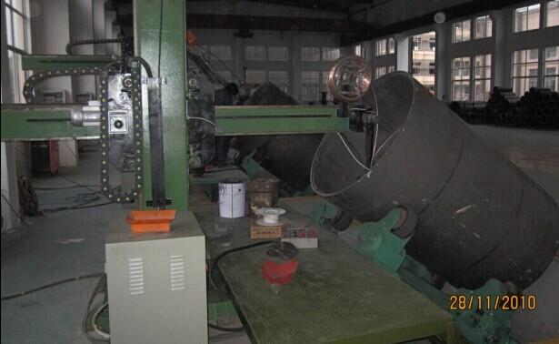 angle titling welding rotator