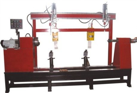 Double head automatic girth welding machine