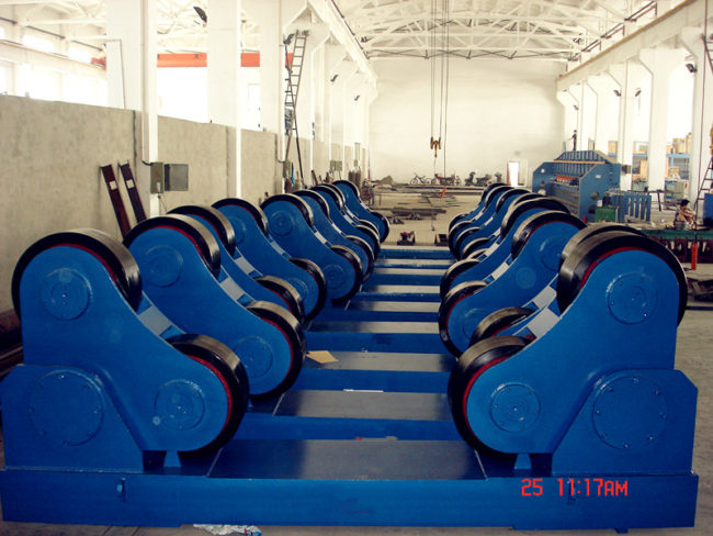 SAR 250 tons self aligning welding rotator