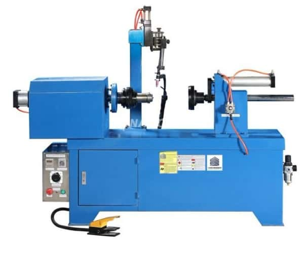 Straight seam welding machine