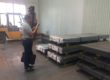 印度客户参观耐磨板生产基地