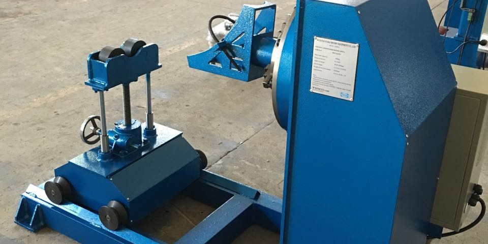 Application of automatic welding equipment